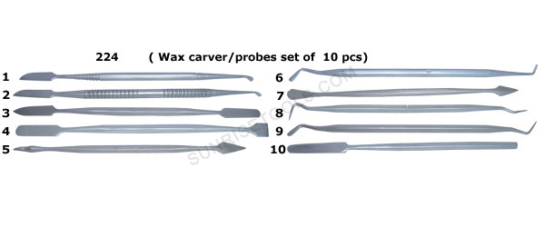 Jewelry Wax Carvers/Probes